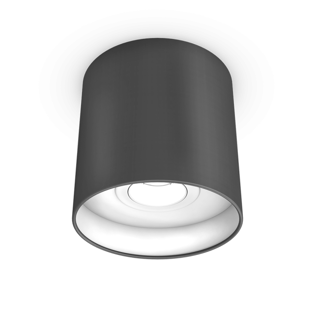 LED-Downlight anthrazit/weiß