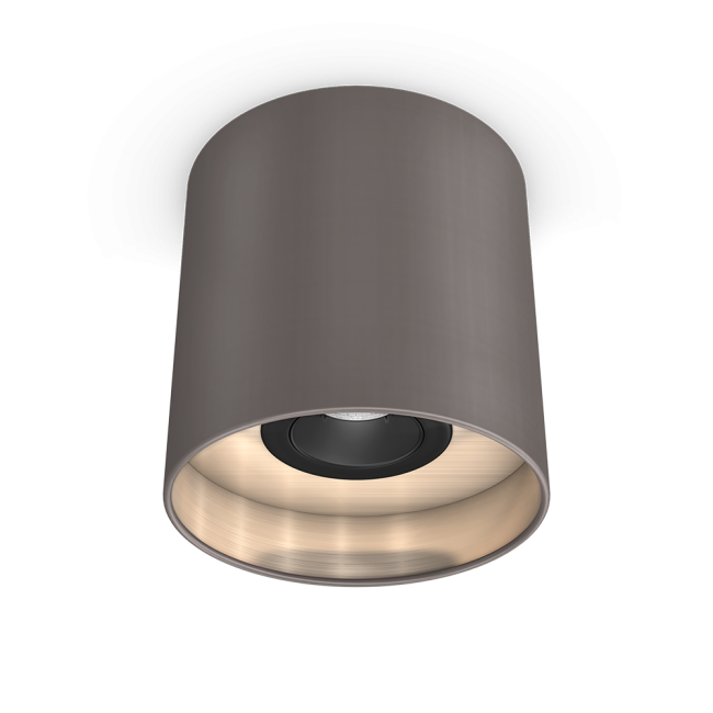 LED-Downlight taupe/champagner
